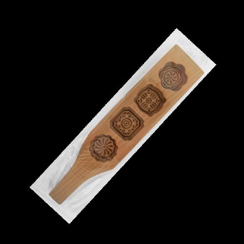 CP3003四連櫸木握把傳統印糕模