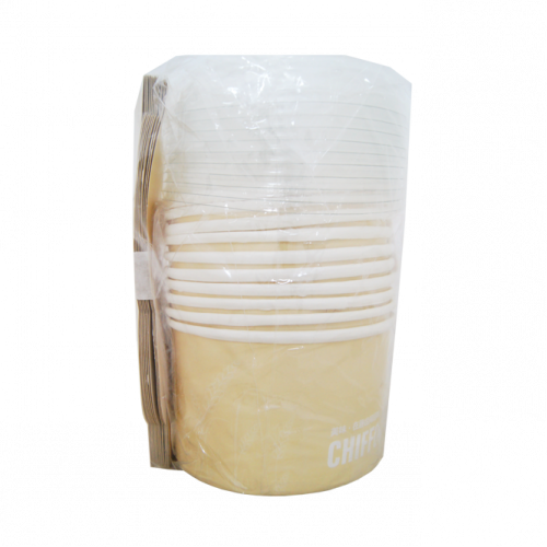 中雪紡卷口10入-米黃