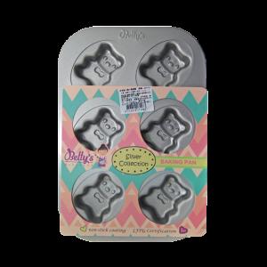 BP7003小熊烤盤(6連)