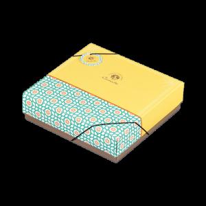 10入土鳳梨酥盒-卡米爾*1入(附內襯)