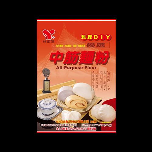 仙知味中筋麵粉500g