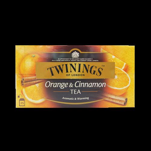 唐寧香橙肉桂紅茶包2G*25入