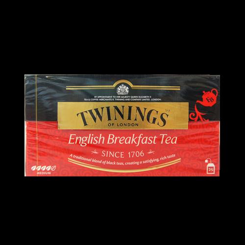 唐寧英倫早餐紅茶包2G*25入