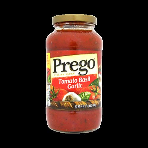PREGO蕃茄羅勒義大利麵醬680g