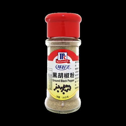 味好美黑胡椒粉30g