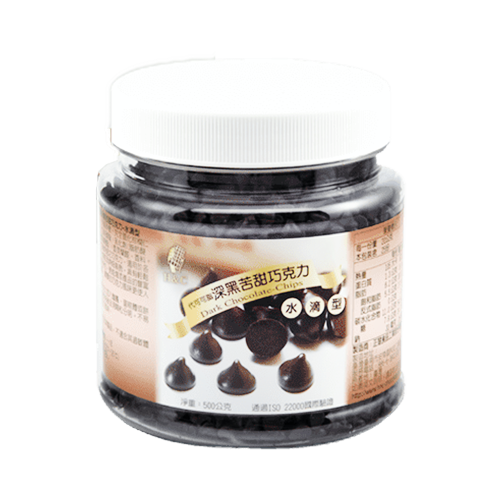 正慧H&C深黑苦甜水滴巧克力500g