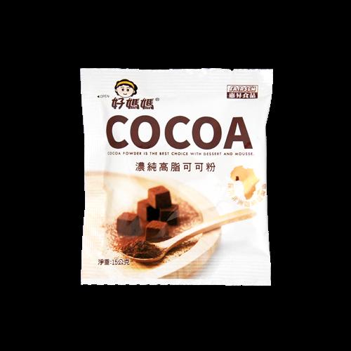 惠昇好媽媽濃純高脂可可粉(15g*10包)
