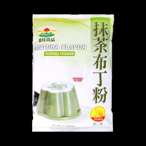 惠昇抹茶布丁粉1kg