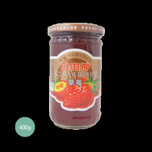 自由神微甜草莓醬400g