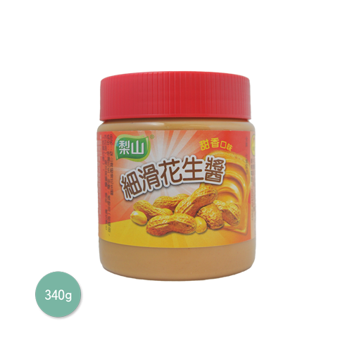 梨山細滑花生醬(甜香)340g