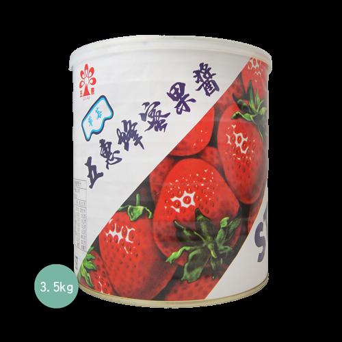 五惠蜂蜜草莓醬3.5kg