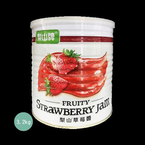 梨山加工草莓醬3.3kg