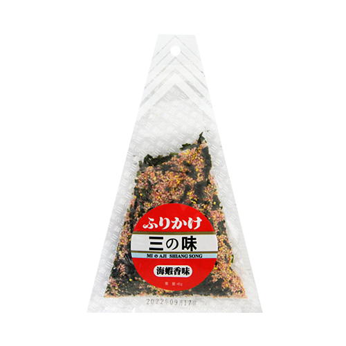 味島香鬆海蝦45g-三角袋