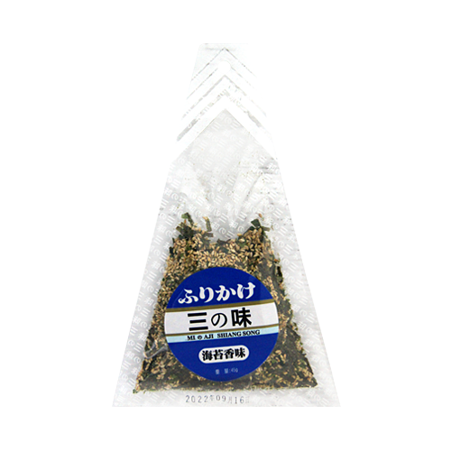 味島香鬆海苔45g-三角袋