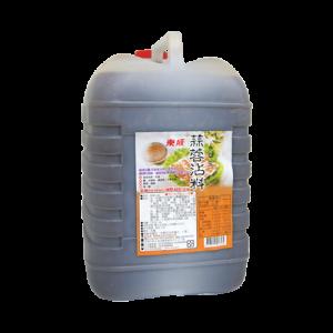 東成蒜蓉醬油膏5L