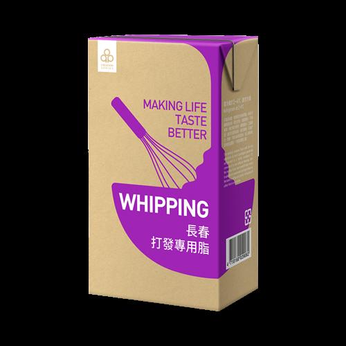 紫長春混合性鮮奶油1L-冷藏