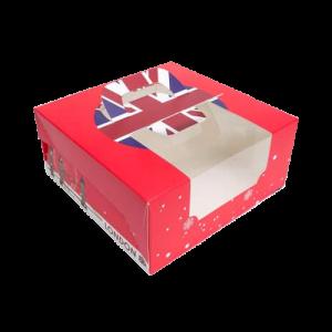 6吋蛋糕盒(英倫風)