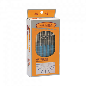 三能 SN3199巧克力裝飾插具組(10支入)