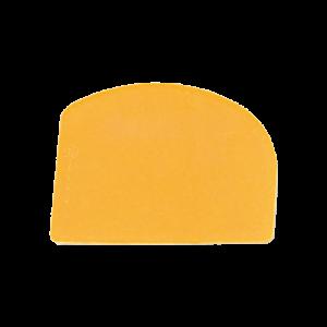 三能 SN4073兩用軟質塑膠刮板(黃)