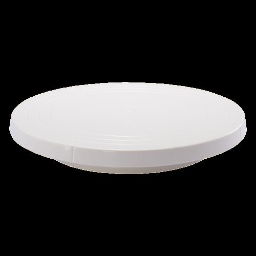 會員優惠-三能 SN4152-米白塑膠轉台27cm