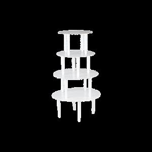 三能 SN4463四層塑膠壽糕塔