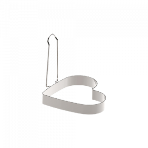 三能 SN4628白鐵活動柄心型煎蛋器
