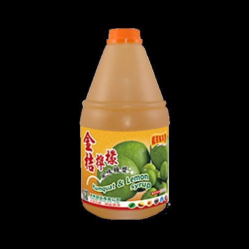 精選.金桔檸檬調味糖漿