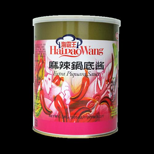 海霸王麻辣鍋底醬3kg