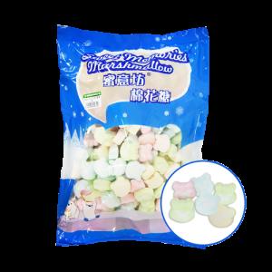 蜜意坊TO-50五彩熊棉花糖1kg(1.5cm)