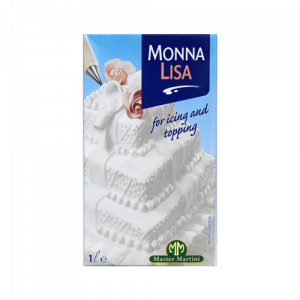 Monna Lisa 裝飾用打發鮮奶油(有糖)1L