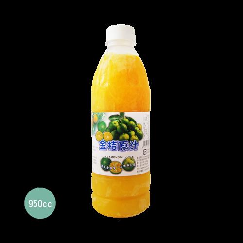 永大食品 金桔原汁960CC-冷凍