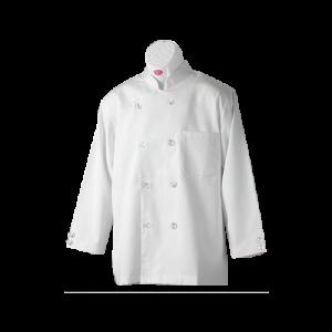 佰潔廚師衣長袖雙排