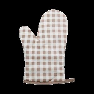 屋諾 UN32504廚房耐熱手套(格子)