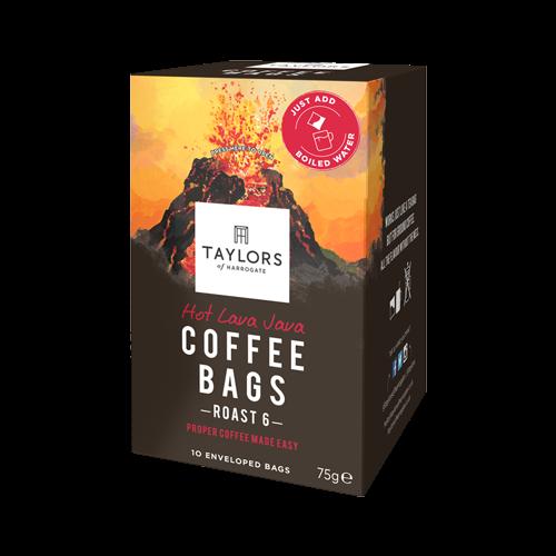 泰勒Hot Lava Java咖啡包(火山咖啡)10入
