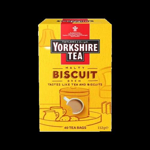 Taylors英國-泰勒約克夏餅乾風味紅茶40入-客訂商品