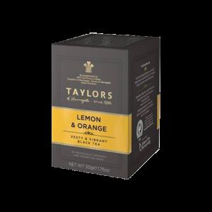 Taylors英國-泰勒檸檬香橘風味茶20入