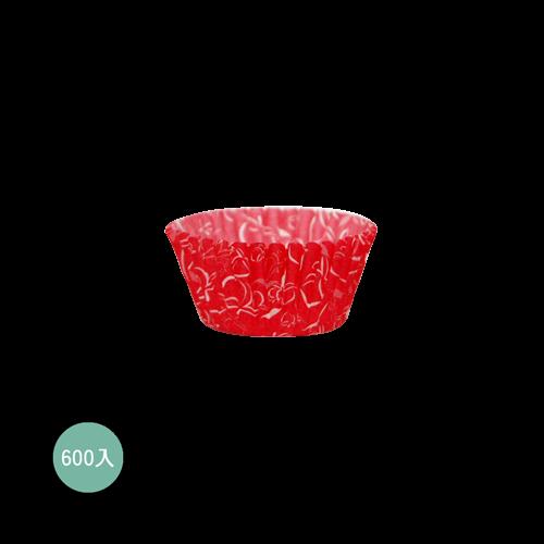 紙杯紅色水蜜桃600入