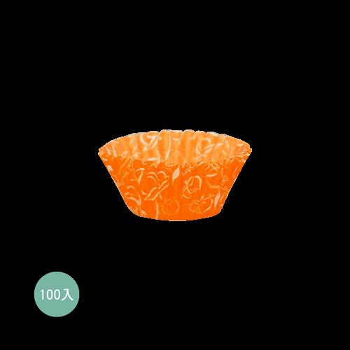 紙杯橘色水蜜桃100入
