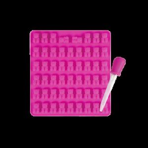 焙蒂絲小熊矽膠模(53連)