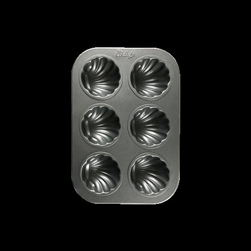 焙蒂絲貝殼模BP9001(6連)