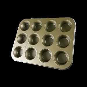 焙蒂絲金色烤盤BP9030(12連)