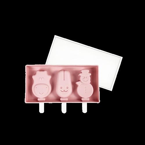會員優惠-焙蒂絲三連可愛造型冰棒模SM206