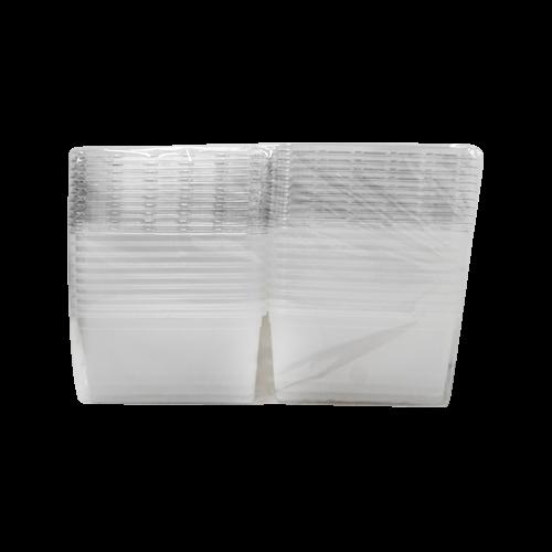 會員優惠-長方透明餅乾盒20入KY020