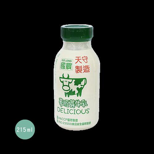 國農麥牙保久調味乳215ml