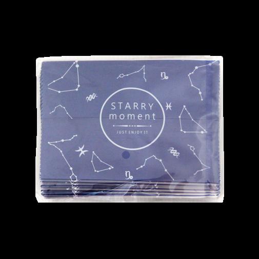 磨砂西點袋100入-紫色星空