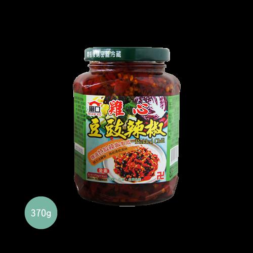 廟口雞心豆豉辣椒370g