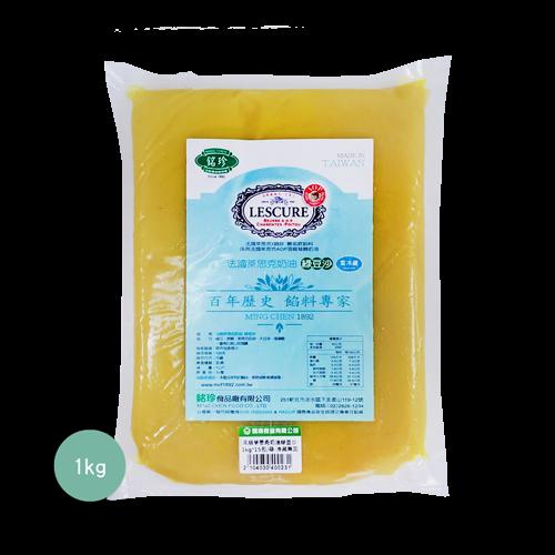 銘珍高級萊思克奶油綠豆沙1kg