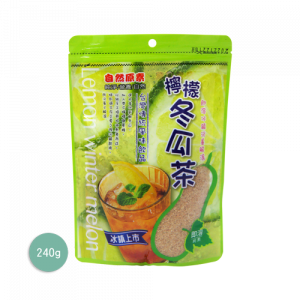 自然原素檸檬冬瓜茶