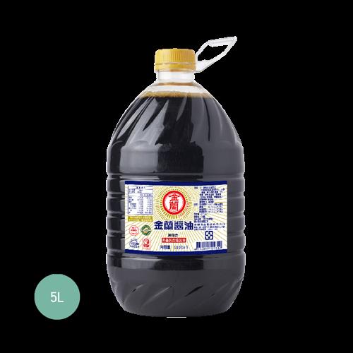 金蘭醬油5L