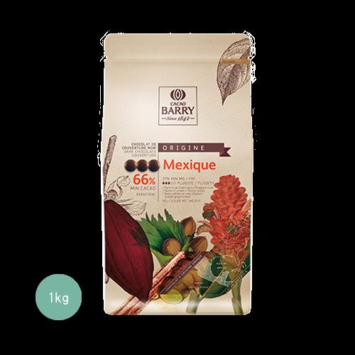 醇品墨西哥苦甜調溫巧克力66%(鈕扣狀)1KG(客訂商品)